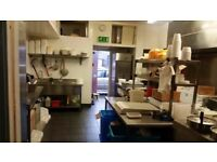 sale a chinese takeaway shop. it is include a new pizza machine as well.