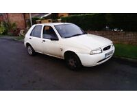 1997 FORD FIESTA 1.3 TAX AND MOT JANUARY FULL SERVICE HISTORY 1 OWNER BARGAIN £195