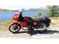 BMW R100RS 1981 WITH 10500 MILES