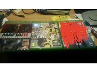 Fifa 17 and mafia 3 xbox one