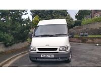 White transit van good condition fully panelled 10 months mot 6 speed gear box and tow bar
