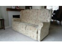 3-seater fabric sofa, very comfortable and in good condition. Matching 2-seater also available