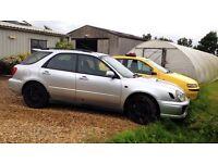 Subaru Impreza WRX estate turbo
