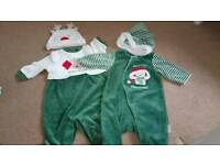 3/6 months baby christmas suits.