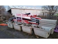 Drainage pipes and general building materials