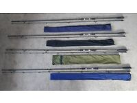 4 Carp Fishing Rods