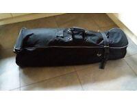 Golf bag, travelling bag holder.