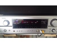 Denon AVR-1306 5.1 Amplifier with speakers