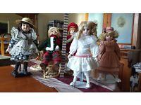 Wonderful Christmas dolls