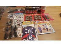 Children's Pirate Party Items/Decorations