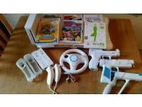 Nintendo Wii and Fit Board bundle