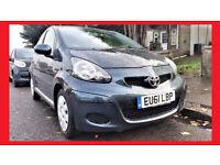 {49000 Miles AUTO}- 2011 Toyota Aygo 1.0 - Automatic - £20 Pounds Tax --alike Citroen C1 Peugeot 107