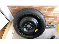Toyota yaris space saver spare wheel 99/05
