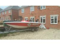 For sale Speed boat 17 ft phantom