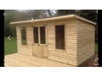 10x8 pent shed FREE delivery with in 15 miles from s802qd £480 100 % t&g we make to order