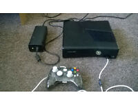 XBox 360 s for sale - working but no memory / controller - read FULL ad