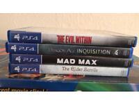 PS4 Games (4)