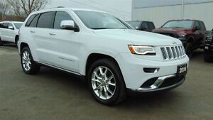 2016 Jeep Grand Cherokee SUMMIT - 5.7L HEMI V8 - ONLY 9,600 KMS!