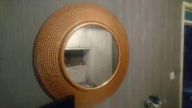 Bronze mirror by next