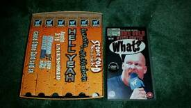 Wwf/wwe 6 pack of attitude box set on vhs