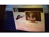 New HP Wide-screen Monitor. Collect today cheap