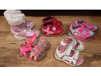 Girls shoes size 4 to 6