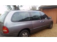 7 Seater Chrysler Grand Voyager for sale £400 ono