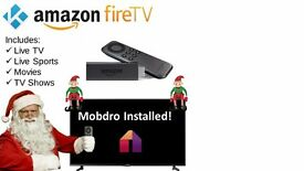 Amazon Fire TV Stick. Kodi fully loaded ✔Live TV & Sport✔ TV Shows✔Movies✔Mobdro