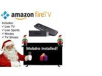 Amazon Fire TV Stick. Kodi fully loaded ✔Live TV & Sport✔ TV Shows✔Movies✔Mobdro