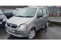 SUZUKI WAGON R 2004 1.3 PETROL ESTATE MANUAL SILVER