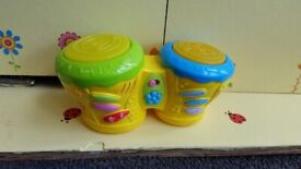 Musical bongo drums