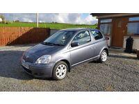 **2004 Toyota Yaris 1.3 Petrol 3 Door, Cheap Insurance**Clio,Corsa,Yaris,Polo,Ka,Ibiza