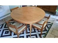 Mid century Scandinavian Dining room table