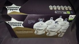 Brand new tomme tippee bottles