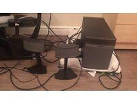 Bose 2.1 speakers