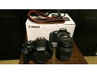 Canon 1100D DSLR with Canon 18-55mm f/3.5-56 kit lens