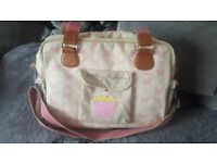 Yummy Mummy Pink Butterfly Baby Changing Bag