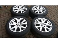 GENUINE 19 RANGEROVER SPORT SNOWFLAKE ALLOY WHEELS DISCOVERY VOGUE VW T5 TRANSPORTER