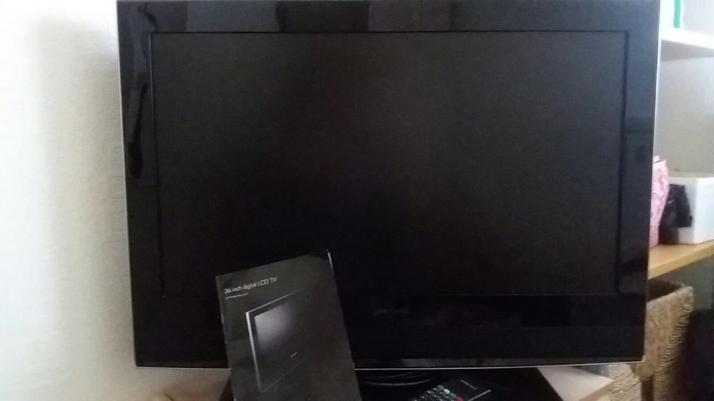 26 inch TV bought from John Lewis barely used