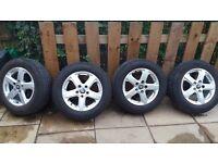 4 wolfsburg edition wheels. .