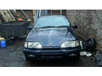 Ford Sierra XR 2.9 4x4 project, runs and drives