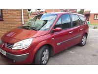 Renault Grand Scenic MPV 7 seater 2006 1.4 Dci FSH, new MOT July 2017, A/C,electric sunroof,