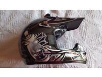Nitro racing motocross helmet size XL 540-550 - New and unworn