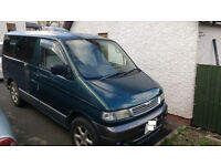 Mazda Bongo Friendee, Home Conversion with kitchen and roll out bed