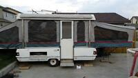 1997 coleman tent trailer in Airdrie
