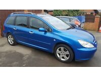 Peugeot 307 SW - 7 Seats with 12 Months MOT