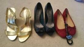 Ladies size 7 shoe bundle