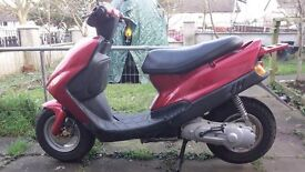 sym 50cc scooter good working order 200 miles not registered
