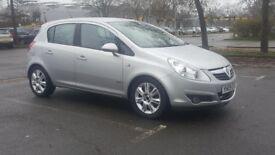 VAUXHALL CORSA 2009,full auto,1364cc petrol,5 doors,new MOT,only 38000 miles,service history