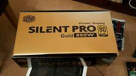 Cooler Master 800 watt GOLD power supply